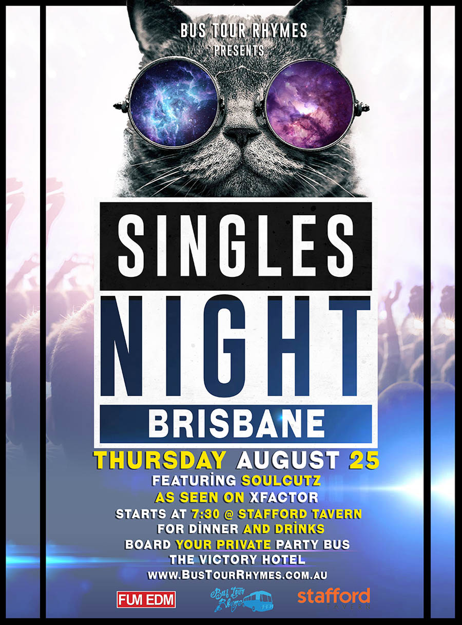 Singles NIght flyer